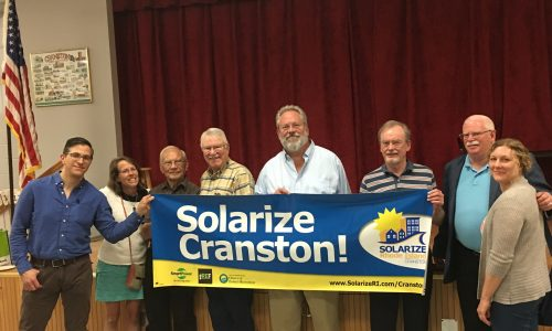 Cranston's Solar Ambassadors